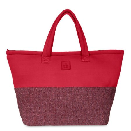 Bolsa de Tecido PJ4389 Lycra/Glitch Vermelho/Vermelho