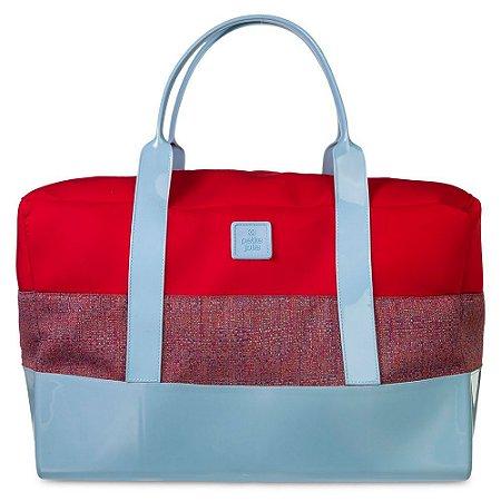 Bolsa de Tecido PJ4412 Lycra/Glitch/Vermelho/Frozen
