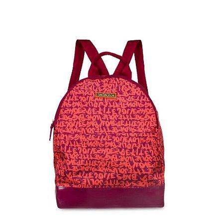 Bolsa Tecido PJ4253 Grffiti/J-Lastic Neon Orange/Mystic Wine