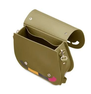 Bolsa Petite Jolie Saddle Militar PJ4891