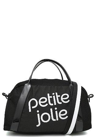 Bolsa Marci Petite Jolie PJ4684 Mesh Nylon preto