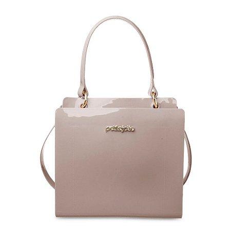 Bolsa Leave Petite Jolie PJ4633 J-Lastic Cinza