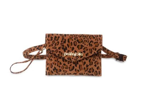 Bolsa pochete Belt Petite jolie PJ4411  onca/zebra natural/natural
