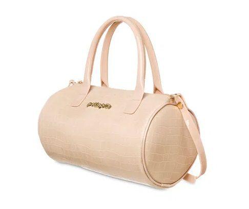 Bolsa Dory Petite jolie PJ5006  Croco Nude Flauta