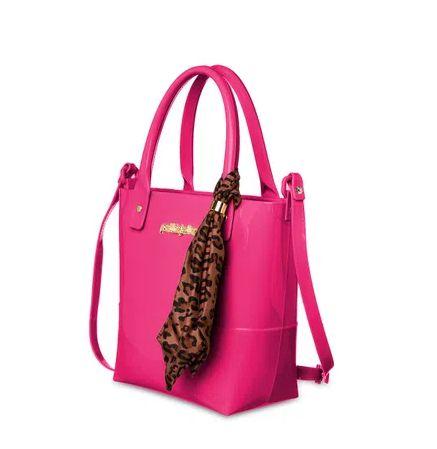 Bolsa Easy Petite Jolie PJ5060 J-Lastic/Onca/Zebra Pink Xilofone/Natural