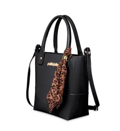 Bolsa Easy Petite Jolie PJ5060 J-Lastic/Onca/Zebra Preto/Natural
