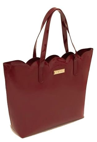 Bolsa Kimmy Petite Jolie PJ4655  verniz light/J-lastic Vinho Acordeon