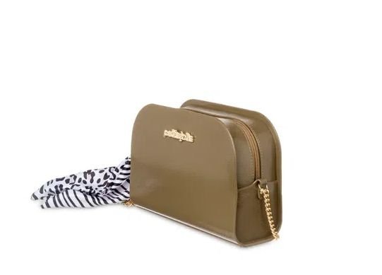 Bolsa Pretty Petite Jolie PJ5062  J-lastic/Onca/Zebra  Militar Tamborim/Branco