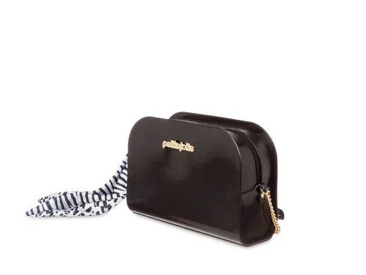 Bolsa Pretty Petite Jolie PJ5062  J-lastic/Onca/Zebra  Preto/Branco