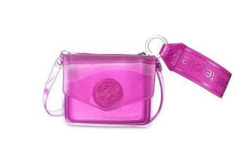 Bolsa/carteira Ruby PJ10040  J-Lastic  Transl Pink Pitaya