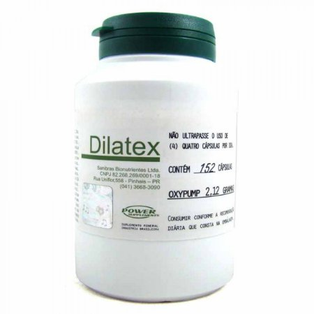 Dilatex Power Supplements 152 Cápsulas