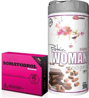 Combo Somatodrol Woman + Woman Protein