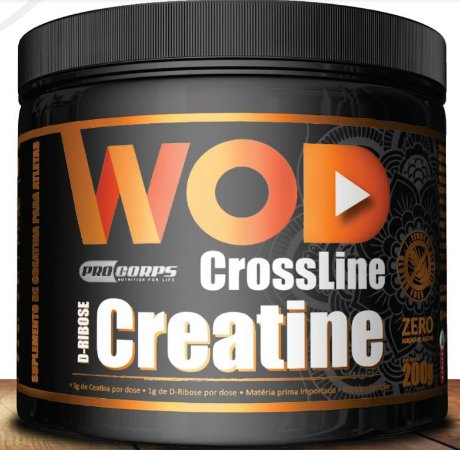 Creatina + D-Ribose Crossline Wod Pro Corps 250g