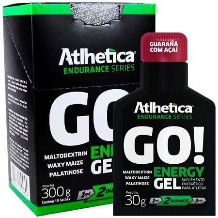 Go Energy Gel 10un 30g Atlhetica Nutrion