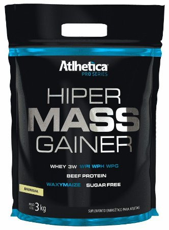 Hiper Mass Gainer 3kg Atlhetica Nutrition
