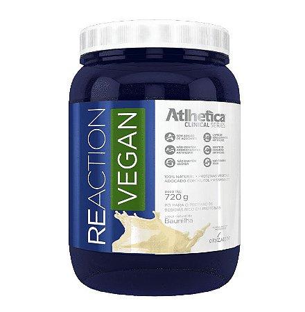 Reaction Vegan Atlhetica Nutrition 720g (Whey Vegano)