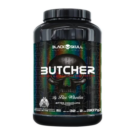 Butcher Black Skull USA - Bitter Chocolate 907g (Proteína da Carne)