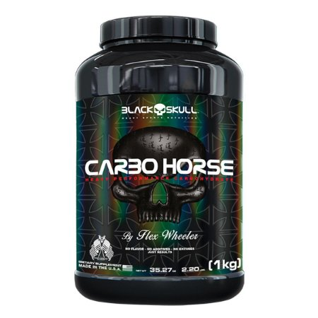 Carbo Horse Black Skull USA 1kg