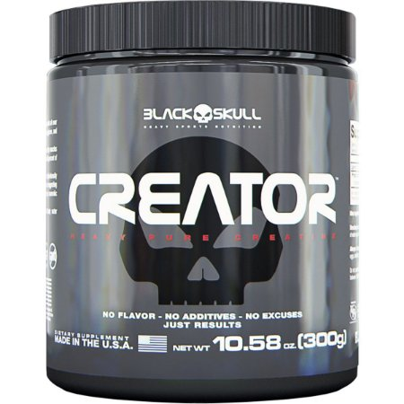 Creator Creatina Black Skull USA