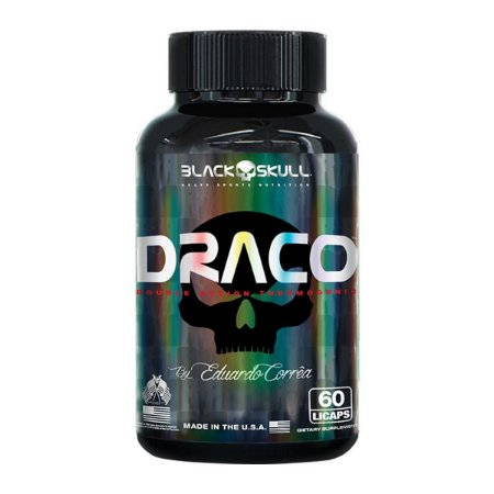 Draco Black Skull USA 60 Cáps