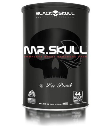 Mr. Skull Packs Black Skull USA