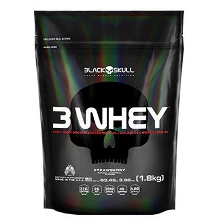 3 Whey Black Skull USA 1.8kg