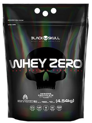 Whey ZERO Black Skull 2kg - Refil (4.4lb)