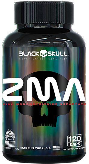 ZMA 120 Cáps Black Skull USA