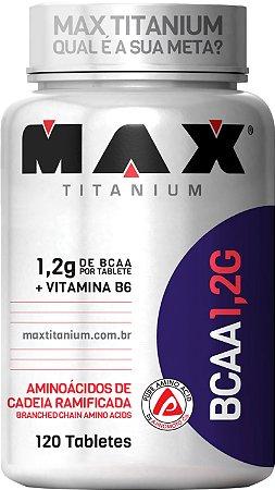 BCAA 1.2g 120 Tabletes Max Titanium