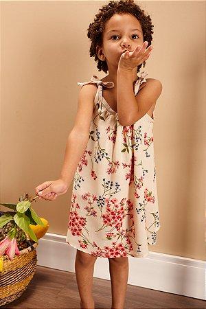 "Vestido ""Lourdes"" Flores"