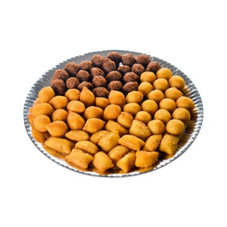 Coxinha de Batata Doce c/ carne - salgados de festa - 100 unid