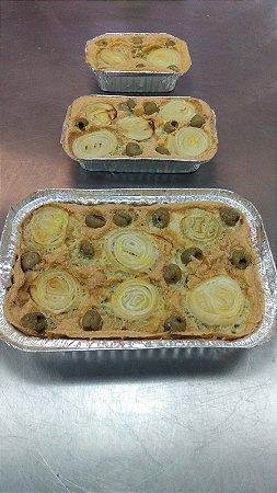 Torta Capixaba ( Bacalhau)