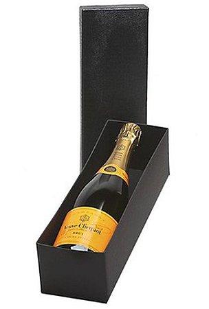 Kit Champanhe Veuve Clicquot 750ml Caixa Preta
