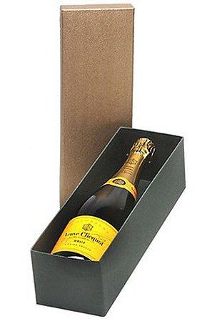Kit Champanhe Veuve Clicquot 750ml Caixa Dourada