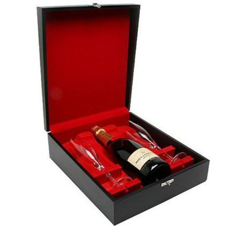 Kit Champanhe Moet Chandon Imperial 750ml com Taças Cristal