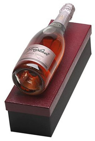 Kit Espumante Freixenet Cordon Rosado 750ml Caixa Vermelha