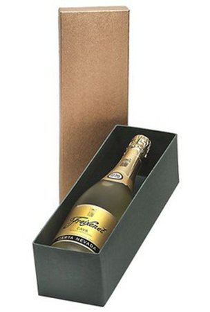 Kit Espumante Freixenet Carta Nevada 750ml Caixa Dourada