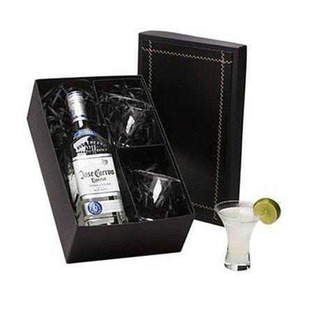 Kit Tequila José Cuervo Especial Silver 750ml com 2 Copos