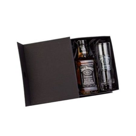 Kit Whisky Jack Daniels 200ml com Copo
