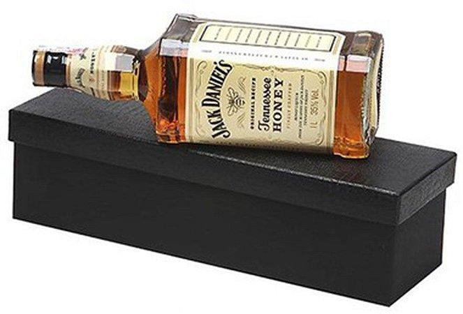 Kit Whisky Jack Daniels Honey 1 Litro Caixa Preta
