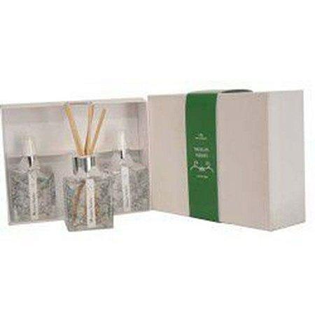 Kit Sabonete Líquido Difusor e Home Spray Musgos Verdes