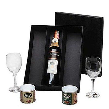 Kit Vinho Argentino Trivento Tinto 750ml Caixa Preta