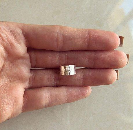 Piercing de Pressão com Ponto de Zircônia Diamond Banhado a Prata