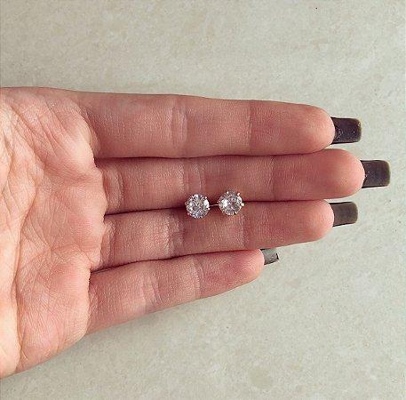 Brinco Maxi Zircônia Diamond Dourado