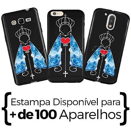 Capinha - Nossa Senhora Manto Azul - Black