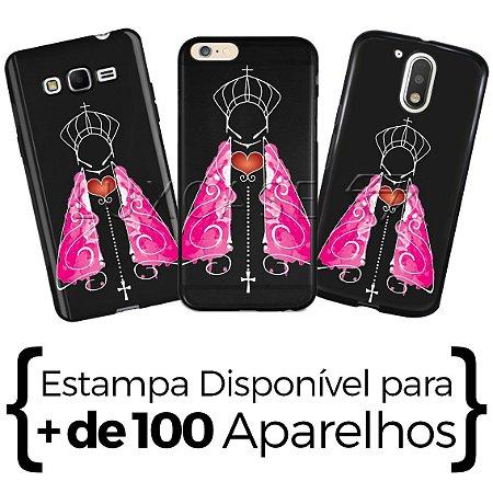 Capinha - Nossa Senhora Manto Rosa - Black