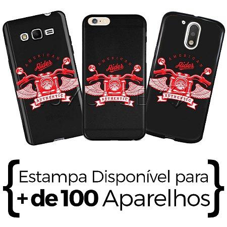 Capinha - American Rider - Black