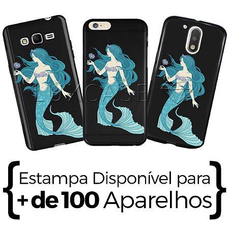 Capinha - Sereia Blue - Black