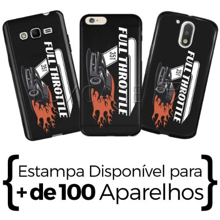Capinha - Full Throttle- Black