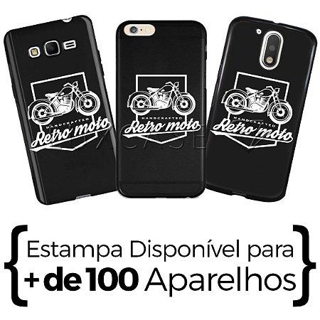 Capinha - Retro Moto - Black